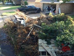 Yard Debris Removal & Cleanup